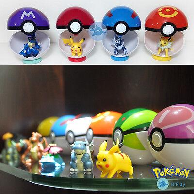 Pokémon Pokéball Pokeball set Figuren Cosplay Kostüm Anime Spielzeug sammlung go