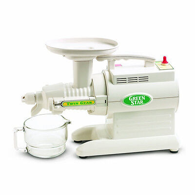 Tribest Green Star 2000 Juicer GS2000 Twin Gear ~ NEW  ~ GS2000, White for sale  Danbury