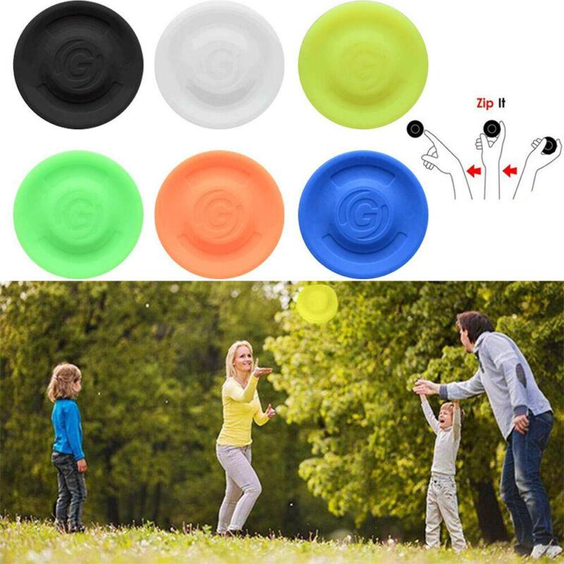 3Pcs Pocket Flexible Catching Flying Disc Soft Mini Frisbees