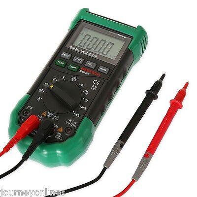 Mastech Ms8268 Digital Multimeter Fuse Capacitance Frequency Measurement Green