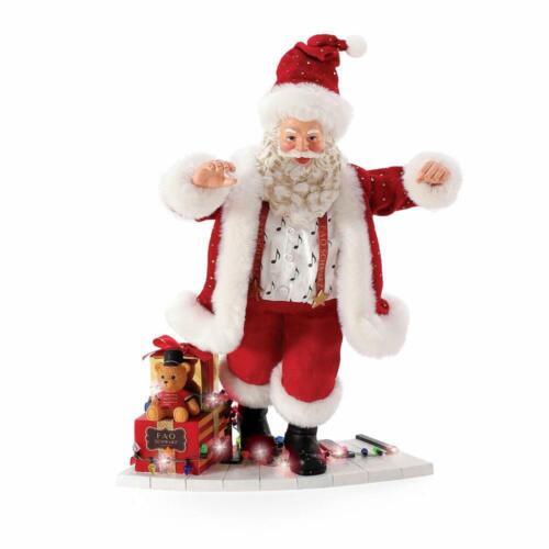 Dept 56 Possible Dreams TOY PIANO FAO SCHWARZ Santa Figurine 6008580 NEW 2021