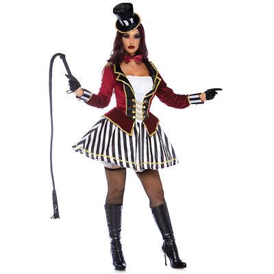 Womens Night Ringmaster Circus Costume - Women Ringmaster Costume