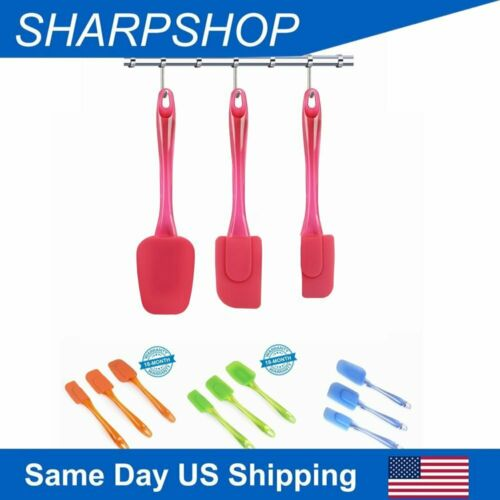 Silicone Spatula Flexible Heat Resistant Rubber Cooking Spat