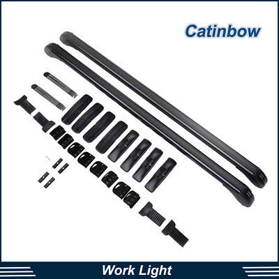 Car Roof Rack Top Luggage Universal Adjustable Cross Bar Carrier Window Frame