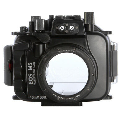Best 40m Waterproof Camera Housing Dive Case For Canon EOS M5