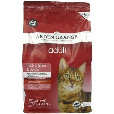 Arden Grange Dry Cat Food Adult Chicken 4kg -kg 4 Potato