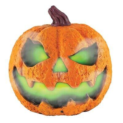 Misting Pumpkin Orange Halloween Display Outdoor LED Light Home Decor