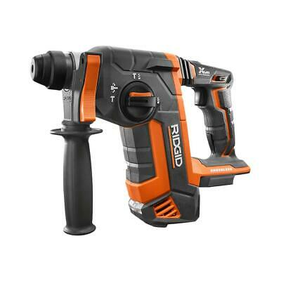 Ridgid R86711b Brushless 18v 1 Inch Sds Plus Rotary Hammer Tool Only