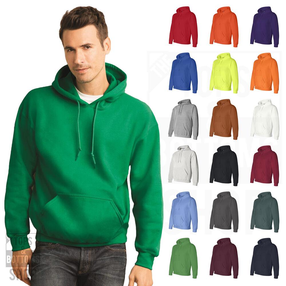 Gildan Mens DryBlend Pullover Hoodie Sweater Hooded Sweatshi