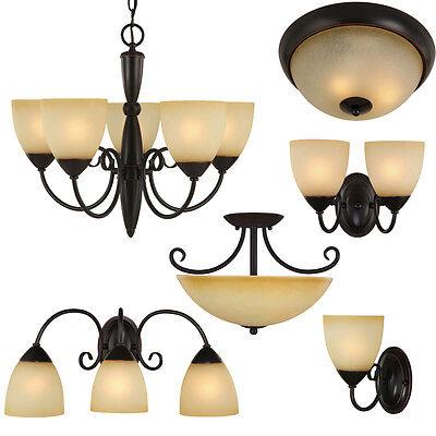 Oil Rubbed Bronze Bathroom Vanity, Ceiling Lights & Chandelier Lighting Fixtures ()