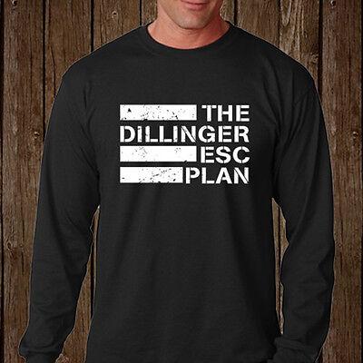 The Dillinger Escape Plan Metal Band Mens Long Sleeve Black T-Shirt Size S-3XL