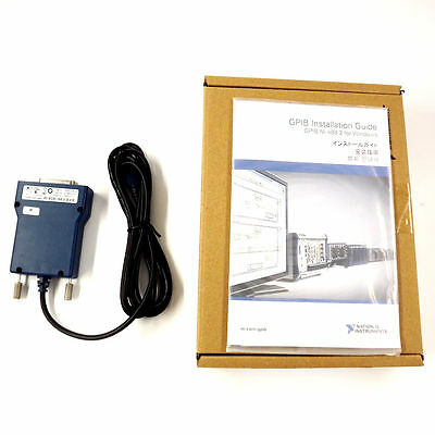 National Instrumens Ni Gpib-usb-hs Gpib Data Acquisition Card 778927-01 Ieee 488