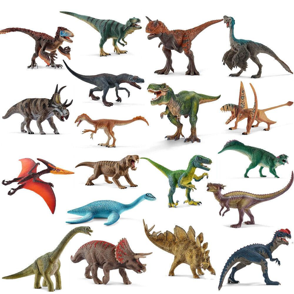 12 Stück Kunststoff sortierte Dinosaurier Figuren Mini Dinosaurier Set