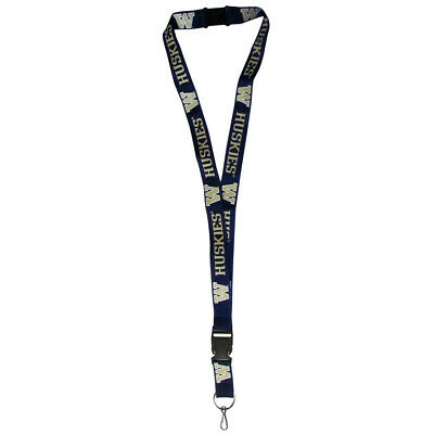 "Washington Huskies 21"" Lanyard Key Chain w/Safety Release (Purple) NCAA Licensed"