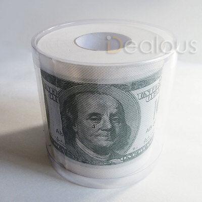 Toilet Novelties ($100 One Hundred Dollar Bill Money Toilet Paper Novelty Party Gg Gift Humor)