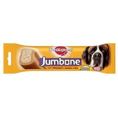 PEDIGREE JUMBONE Maxi Dog Treats With Beef Omega3 Vitamins Minerals 210g 6.3oz