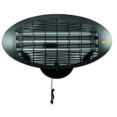 Estufa Eléctrica Un Cuarzo BLINKY Bk-Sq1500 Para Exterior 3X500 Vatios
