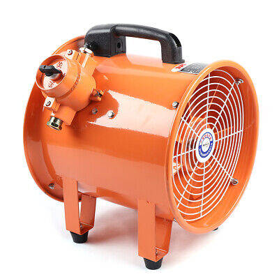 10 Atex Rated Ventilator Explosion Proof Axial Fan Extractor Ignition Resisted