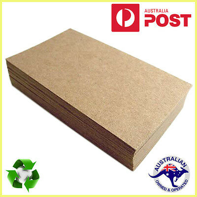 Brown Kraft Paper 100 x Sheets A4 225GSM Natural Recycled Card- Premium Quality
