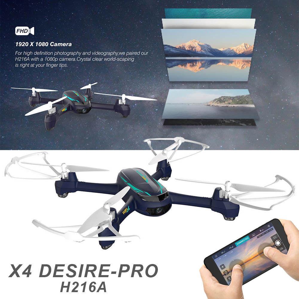 HUBSAN X4 H216A Desire Pro Quadcopter GPS Wifi FPV 1080P HD Camera Drone RTF USA