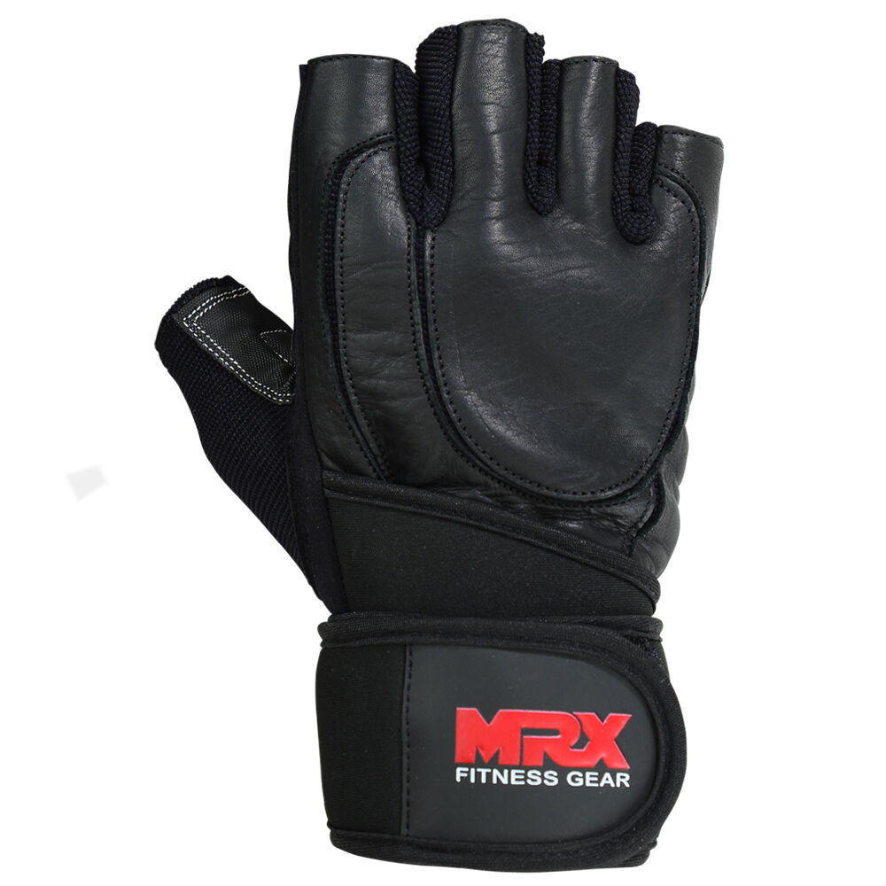 Weight Lifting Gloves Leather Fitness Gym Training Workout: Weight Lifting Glove Leather Fitness Gym Training Workout