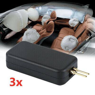3pc Universal Car SRS Air Bag Set Fault Light Simulator Emulator Sensor Bypass