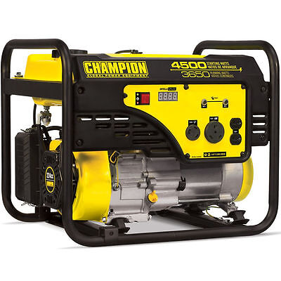 Champion 100331 - 3650 Watt Portable Generator W Rv Outlet