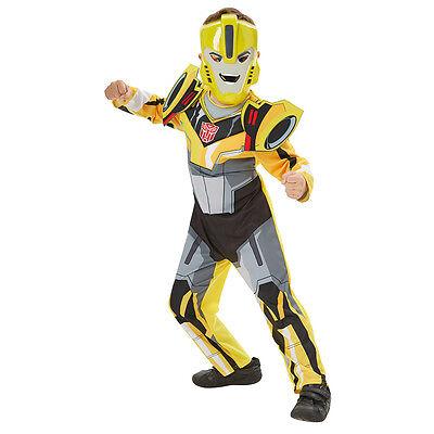Transformers Kostüm Bumble Bee Kinder Jungen Jungs NEU 104-110 116-122 128-140