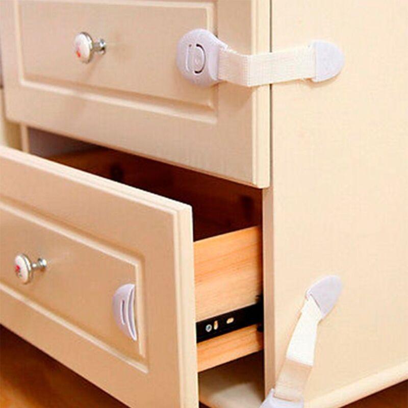 Lock Door Wardrobe Cabinet Cupboard  Lock For Baby Kid Toddler Whale Shaped
