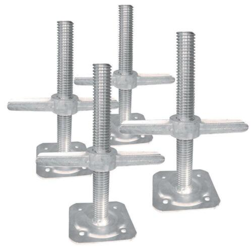 Leveling Jack (4-Pack) Scaffolding Part Building Materials MetalTech Brand New