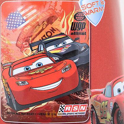Disney Pixar Cars Mcqueen Fleece Throw Blanket - Round About Disney Pixar Cars Fleece
