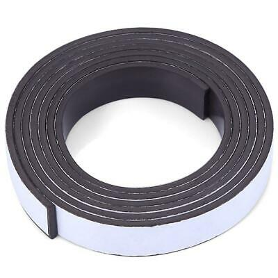 10mmx1.5mmx1m Strong Magnetic Tape Strip Magnetics Rubber Self Adhesive