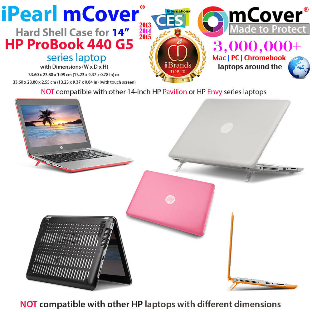 "NEW mCover® Hard Shell Case for 14"" HP ProBook 440 G5 serie"