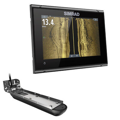 Simrad 000-14838-001 Go7 Xsr Active Imaging 3-In-1 Transom Mount Transducer And