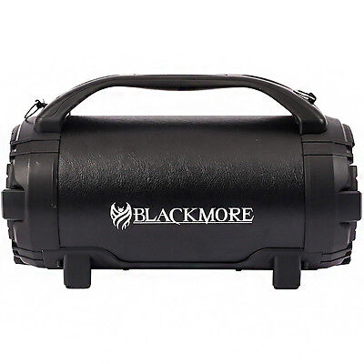 Blackmore Portable 750 Watts Amplified Bluetooth Speaker - Black