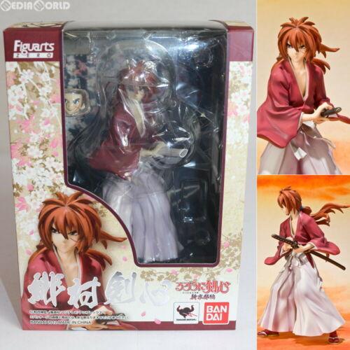 BANDAI Figuarts ZERO Rurouni Kenshin Himura Kenshin Figure Used