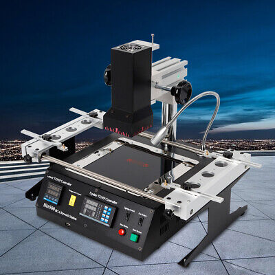Bga Rework Station Infrared Welder Soldering Reballing Ir Heating Machine 110v