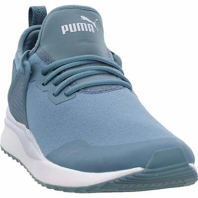 Puma Pacer Next Cage Glitter Sneakers Casual    - Blue - Womens
