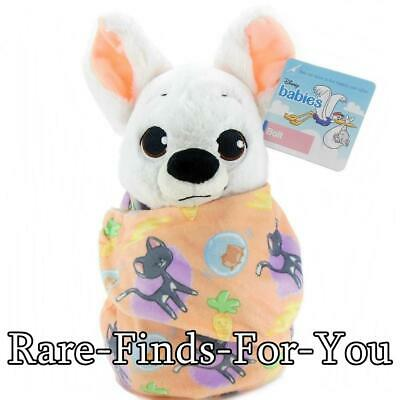 Disney Theme Parks Babies Bolt Dog Blanket Pouch Plush Doll Toy 10