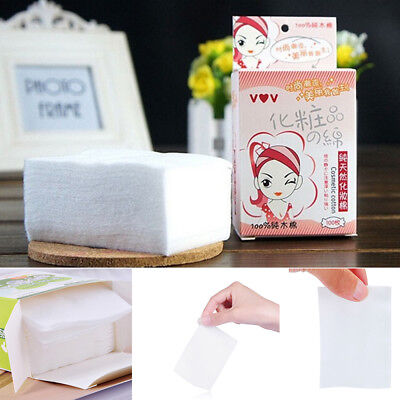 100Pcs/box Wipes Makeup Remover Fresh Clean Soft Cotton Pad Cosmetics Cotton