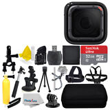 GoPro HERO5 Session HD Black Action Camera + 32GB Deluxe Accessory Bundle