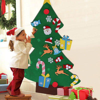 US Kids Children DIY Felt Christmas Tree Ornament Gift 2018 New Year Xmas Decor - Diy Christmas Ornament