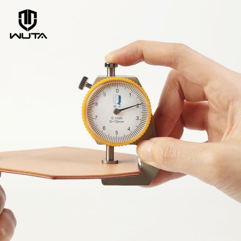 WUTA Leather Thickness Gauge Measuring Tools  dial Paper Meter Tester