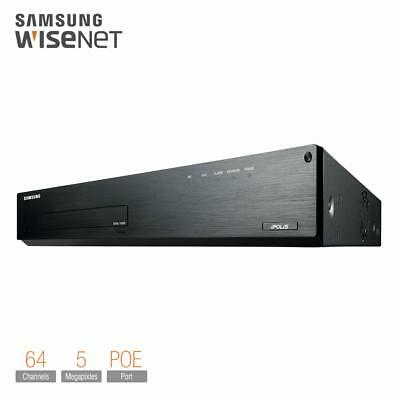 Samsung SNR-1000 Network Video Recorder Security NVR 1 TB HDD 64 Channel