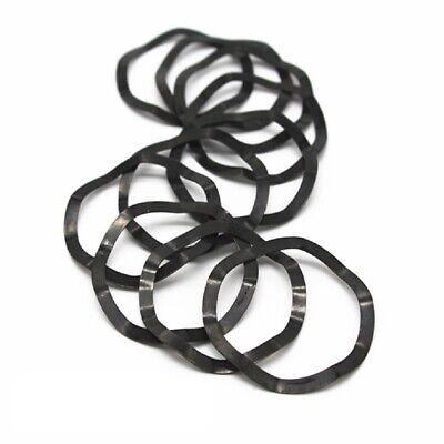 Carbon Steel Washers (Black Carbon Steel - Wave Washers - M4 M5 M6 M8 M10 M12 M16 M24 M30 M40 M60-M118 )