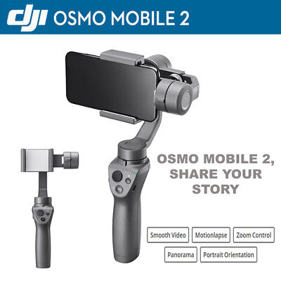 DJI Osmo Mobile 2 3-Axis Handheld Stabilizer Gimbal For iPhone...