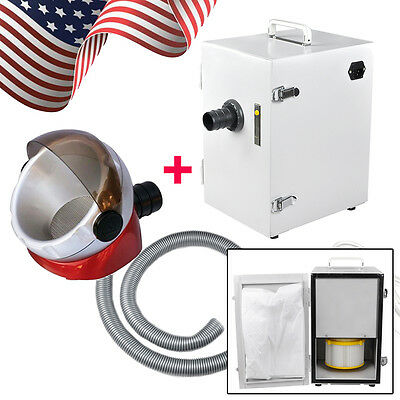 Portable Dental Lab Digital Single-row Dust Collector Vacuum Cleaner Suction