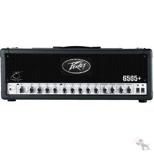 Peavey 6505+ Plus 120-Watt High Gain Guitar Amplifier Amp Head + Footswitch