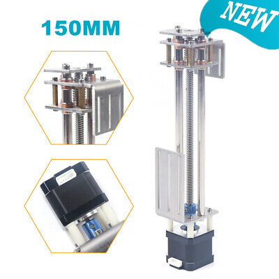 150mm Diy 3 Axis Z Axis Slide Linear Motion Milling Engraving Machine Long Life