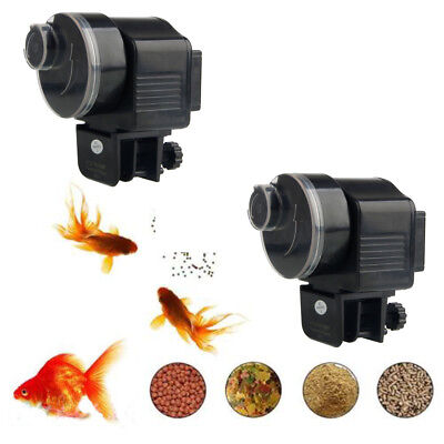 Automatic Fish Food Feeder - New 2019 Style Adjustable Automatic Auto Fish Food Feeder Aquarium Feeding